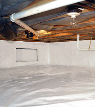 crawl space repair system in Lewistown