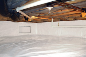 Crawl Space Repair After in Livingston