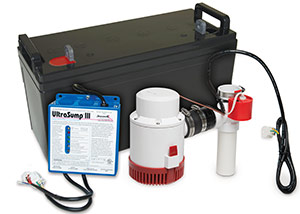 a battery backup sump pump system in Big Timber