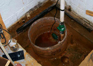 Extreme clogging and rust in a Big Timber sump pump system