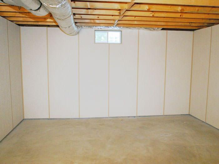 basement wall panels as a basement finishing alternative for lame deer