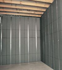 Thermal insulation panels for basement finishing in Miles City, Montana